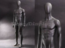 Ca Closeout Fiberglass Male Mannequin Dress Form Clothing Egg Head #Mz-Ae05