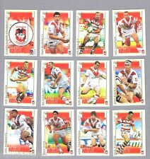 TEN  SETS  OF  2003   ST GEORGE ILLAWARRA DRAGONS  RUGBY LEAGUE CARDS
