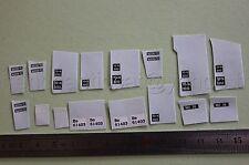 FJ Véhicule miniature 1/43 decalcomanie plaque immatriculation voiture Heco