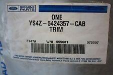 FORD YS4Z-5424357CAB LEFT UPPER PILLAR TRIM 2000 - 2002 FORD FOCUS