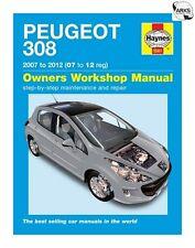 HAYNES Peugeot 308 Petrol & Diesel (07-12) Owners Workshop Manual - 5561B