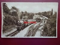 PHOTO  LOCO & COACHES AT HYTHE STATION RH&DR
