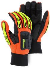 Knucklehead X10 Majestic Armor Skin Mechanics Glove With Impact Protection Lg Pr