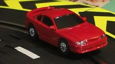 Artin 1/43 Slot Car (Sale) Ford Mustang Red (New) With Working Headlights