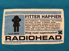 Vintage Radiohead Fitter Happier 1997 T Shirt Waste Products