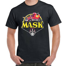 The MASK Rhino Mobile Armored Strike Kommand Matt Trakker Retro Cartoon T-shirt
