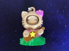 Hello Kitty Sanrio Globe Trotter World Tour Key Chain Charm Hawaiian Doll