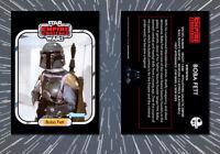 STAR WARS: 1980 BOBA FETT Custom ESB Empire Strikes Back Kenner Trading Card