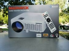 Magnavox Bluetooth Home Movie Theater Projector 100 2000 Lumens 1080p NEW MP601