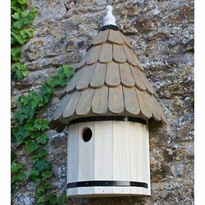 Wall Mounted Garden Wooden Nest Box Dovecote For Small Garden Birds Eco-Friendly