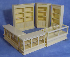 1:12 Scale 6 Piece Cream Shop Set Dolls House Miniature Furniture Accessory 1134