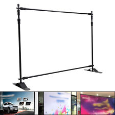 Roller Banner Stand Sign Display Telescopic Backdrop Show Exhibition Advertising