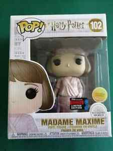 FUNKO POP HARRY POTTER MADAME MAXIME 102 - 2019 Fall Convention LIMITED EDITION