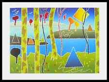 Arthur Secunda Chippewah Spring Poster Bild Kunstdruck im Alu Rahmen 60x80cm