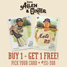 2019 TOPPS ALLEN & GINTER - YOU PICK YOUR CARD - #151-300 - BUY 1 GET 1 FREE!