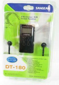 Sangean FM-Stareo / AM Pocket Receiver DT-180 Premium (New)
