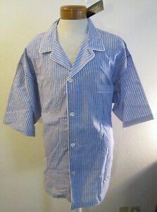 NWT Polo Ralph Lauren Mens Striped S/S Linen & Pajama Top XL Purple/White $56