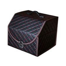 New Car Auto Trunk Organizer Storage Box PU Leather Dustproof Waterproof Holder