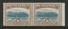 South Africa 1927-30 10/- Bright blue & brown SG 39 Mint.