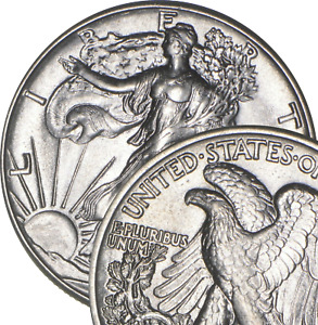 Choice BU - 1941 Walking Liberty Half Dollar - 90% Silver - Uncirculated Unc