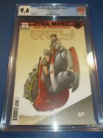 Star Wars Age of Resistance Rey #1 Quesada Variant Rare CGC 9.6 NM+ Beauty Wow