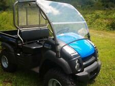 2016 -Older  Kawasaki Mule 600,610 SE,XC Front Folding  Windshield -1/4 THICK!