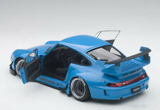 Autoart PORSCHE 993 RWB BLUE/GUN GREY WHEELS COMPOSITE MODEL 1/18 Scale In Stock