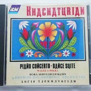 Khachaturian: Piano Concerto etc. / Kuhn / Tjeknavorian / ASV CD DCA 964