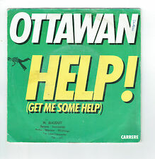 "OTTAWAN Vinyle 45T 7"" HELP ! Get me some DOUDOU LA RUMBA -CARRERE F Rèduit RARE"