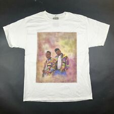 Original DJ Jazzy Jeff and The Fresh Prince Brand Mens XL White Tee T Shirt