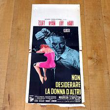 NON DESIDERARE LA DONNA D'ALTRI locandina poster Montgomery Clift Myrna Loy A13