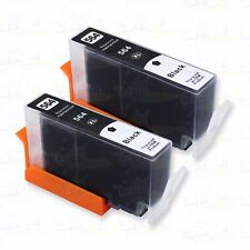 2PK New 564XL Large Black Ink for HP Photosmart 6510 6520 7510 7520 Printer