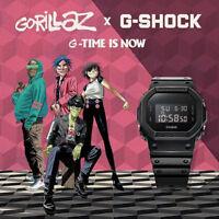 G-SHOCK x Gorillaz Basic Black Promotion Limited Edition Watch DW-5600BB-1G