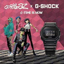 G-SHOCK x Gorillaz Basic Black Promotion Limited Edition Watch DW-5600BB-1