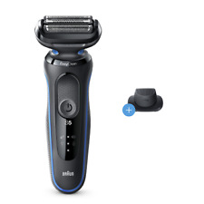 Braun Series 5 5018s Mens Wet Dry Electric Shaver with Charging Stand