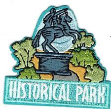 boy girl cub HISTORICAL PARK TOUR Visit SITE Patches Crests Badges SCOUT GUIDES