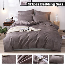 3DLuxury Duvet Cover with Pillow Case Quilt Cover Bedding Set Single Doubl