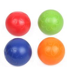 2Pcs Baby Children Plastic Soft Rattle Round Ball Bell Development Toys Random