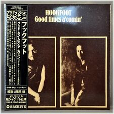 HOOKFOOT Good Times A Comin' +1 Orig. 2010 JAPAN Mini LP CD NEW AIRAC-1586 Seald