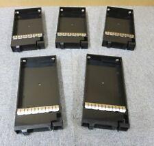 Joblot 5 x Fujistu CA32508-Y232 Eternus DX80 S2 3.5 Hard Drive Black Blank Caddy