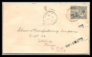 GP GOLDPATH: TRINIDAD & TOBAGO COVER 1925 _CV676_P05