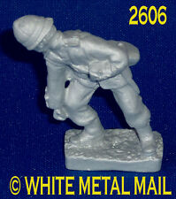 Military Lead Casting LA2606 24th Foot Enlisted Man - Wounded Falling