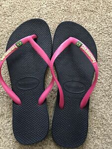 Ladies Havaianas Size 5 37/38