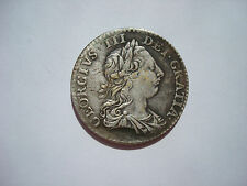 Northumberland Shilling 1763 King George II Britain UK British