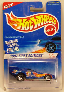 Hot Wheels 1997 #509 - 16662 - First Editions #1 - Firebird Funny Car
