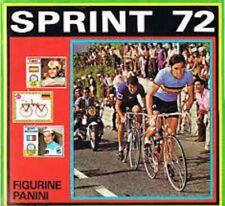 PANINI FIGURINE CYCLING SPRINT 72 SCEGLI DA LISTA - CHOOSE YOUR STICKER