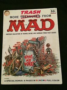 MORE TRASH FROM MAD, 1958, VG Condition