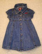Baby Girl Guess Denim Dress Size 12 months Jean Dress