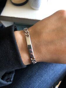 sterling silver 925 Bracelet new ex display 8 inch unisex