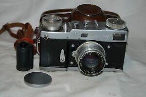 Leningrad Spring Motor Drive Vintage Rangefinder Camera. Service 310122. UK Sale